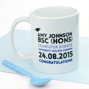 Personalised Graduation Celebration Mug - graduation gifts