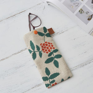 Rowan Berry Glasses Case