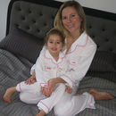 Mother And Daughter Easter Bunny Pyjamas Special Offer