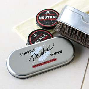 Personalised Shoe Care Kit