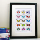 Favourite Campervan Holiday Print