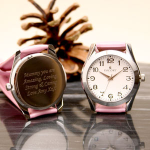 Personalised Ladies Watch With An Arabic Dial
