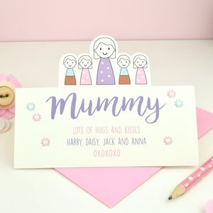 Personalised Mother's Day Card - mother's day cards