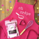 Pancake Mix Gift Set|Apron|Whisk|Cutter