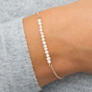 Anja Personalised Freshwater Pearl Bracelet - children's accessories