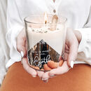 Personalised 'Magic In You' Crystal Intention Candle