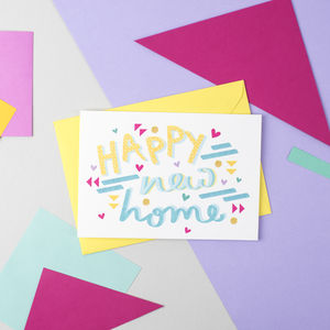 'Happy New Home' Speak Easy Card - view all gifts