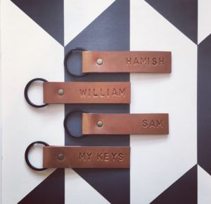 Personalised Key Rings/ Kid's Bag Tags