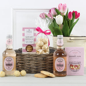 The Pink Gin And Treats Gift Hamper - chocolates & confectionery
