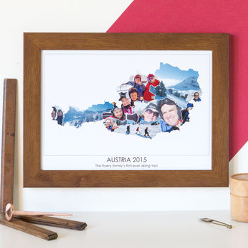 Personalised Travel Photograph Map By Hello Ruth
