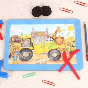 Dumper Truck Placemat - kitchen