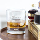 Naughty Or Nice Whisky Tumbler
