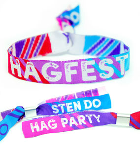 Hagfest Hag Party / Sten Do / Hen And Stag Wristbands - hen party ideas