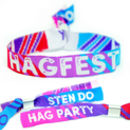 Hagfest Hag Party / Sten Do / Hen And Stag Wristbands