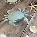 Light Blue Nautical Crab Ornament