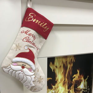 Personalised Christmas Stocking - christmas decorations