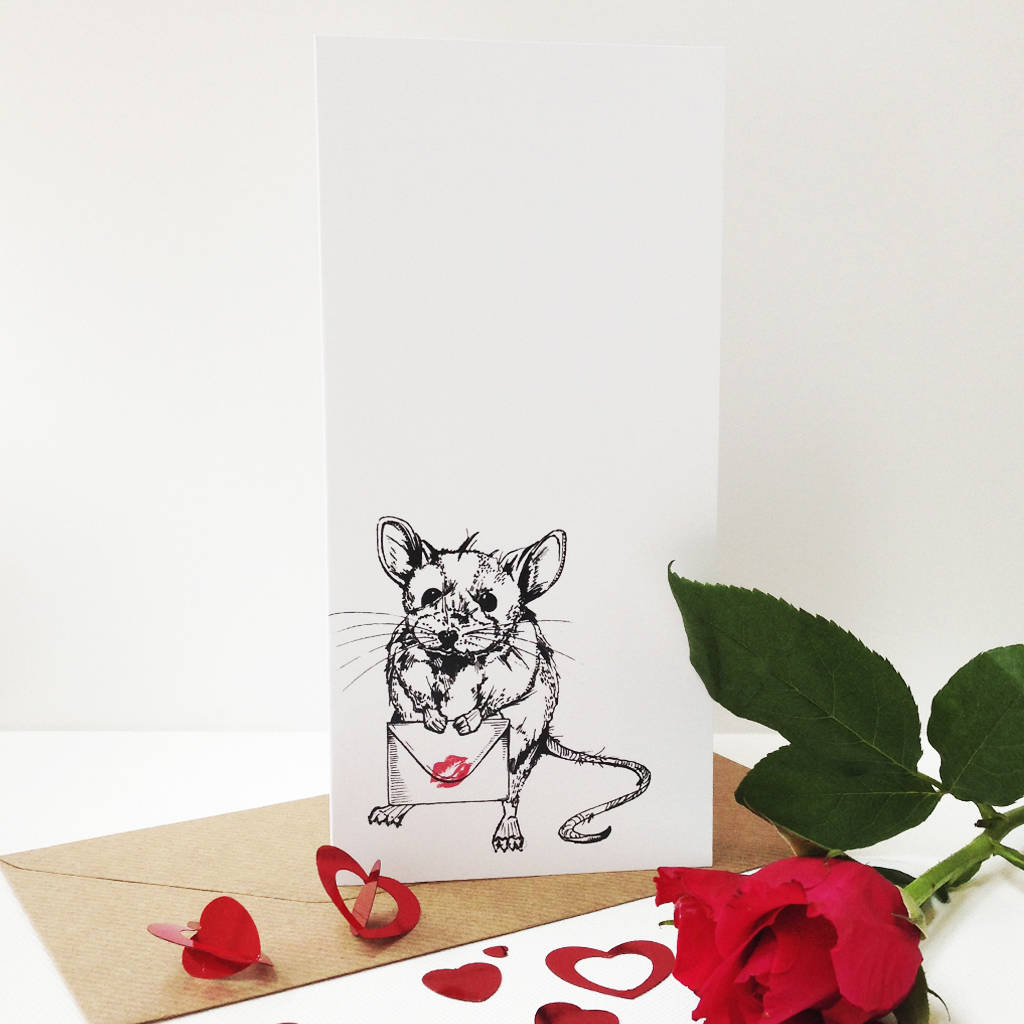 Sealed With A Kiss Greeting Card