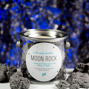 Personalised Edible Moon Rock - christmas food & drink