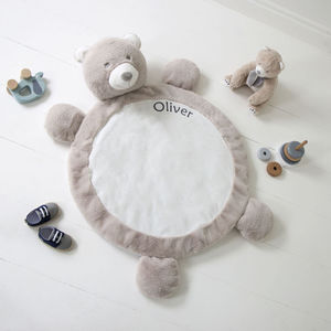 Personalised Bear Playmat