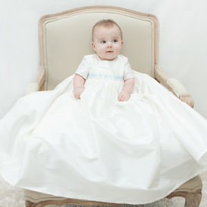 Boys Silk Christening Gown 'Harry' - clothing