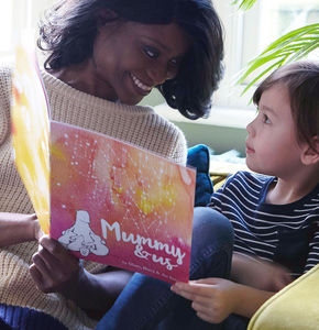 Personalised Mummy And Me Book - gifts from younger children