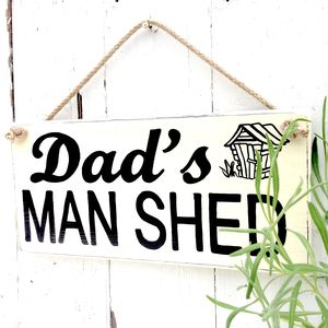 Personalised Man Shed Sign
