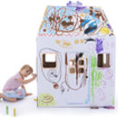 Kid Eco Playhouse White
