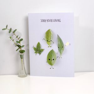 Sorry You're Leaving Large A4 Card - leaving cards