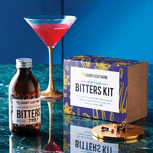 Aromatic Bitters Making Kit - stocking fillers for him