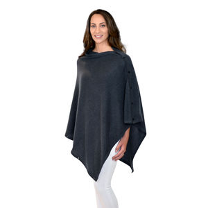 Charcoal Grey Personalised Cashmere Wrap