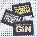 Make Mine A Gin/Prosecco Clutch/Make Up Bag
