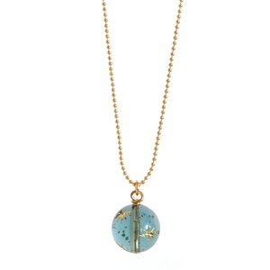 Starry Sky Necklace In Dusty Blue