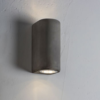 Concrete Up And Down Light