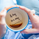 A Hug In A Mug Hidden Message Cup