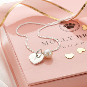 Personalised My First Pearl Necklace - winter sale