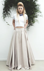 Wedding Skirt With Pockets / Fabric Options - women's fashion