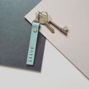 Personalised Leather Keyrings - shop by recipient