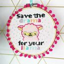 Llama Drama Cross Stitch Kit