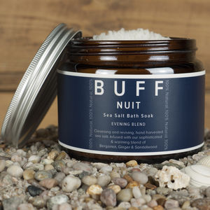Buff Nuit Evening Blend Sea Salt Bath Soak 500g
