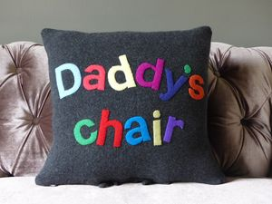 Daddy's Chair Cushion