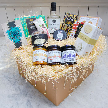 'Daddy Cool' Deluxe Hamper With English Vodka