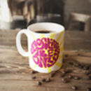 'Positive Vibes Only' Ceramic Coffee Mug