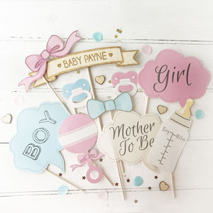 Baby Shower Photo Booth Props - baby shower