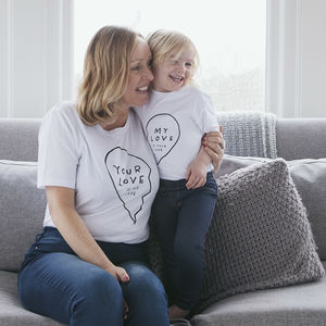'My Love' Bff Twinning T Shirt