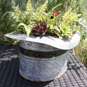 Hat Planter - drink & barware