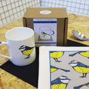 Blue Tit Bird Mug And Tea Towel Gift Set