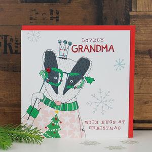 Christmas Card For Grandma