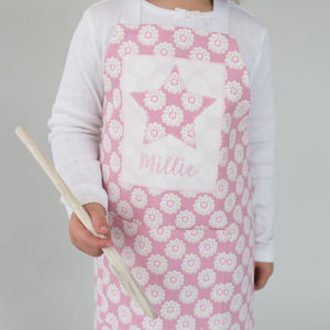 Personalised Children's Little Daisy Apron