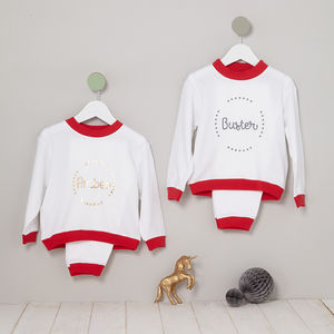 Personalised Sibling Pyjamas - outfits & sets