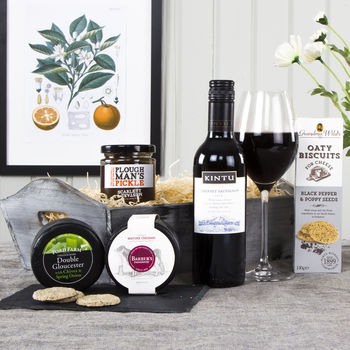 Wine And Cheese Selection Gift Hamper